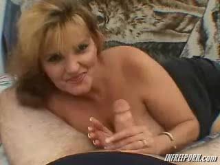 Porno Video of Redhead Granny Milf Porn