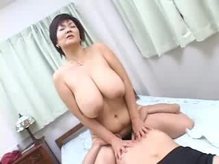 Porno Video of Mosaic: Super Big Tits Eren Joe