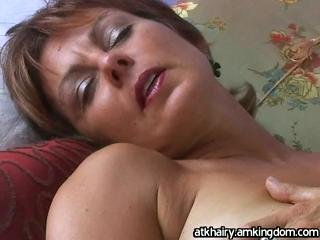 Porno Video of Hairy Pussy Mature