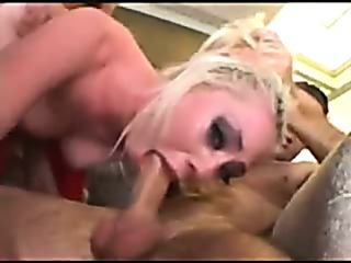 Porn Tube of Blonde Punished By Dp Gag Fuck