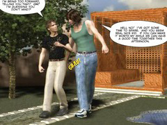 Gay hooker walk: 3D Gay Cartoon Animated Comics