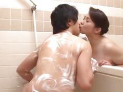 Yuuko does gentle cock sucking