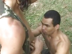 Latino In A Steamy Outdoor Fuck