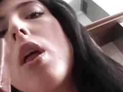 Sexy babe gets fucked hard