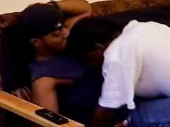 Black Huge Cock Fucked a Horny Ghetto Gay