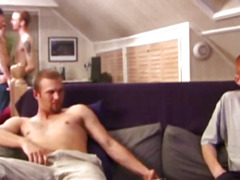 Amateur straight twinks gay group fun