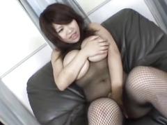 Busty Miu amazes with her porn skills