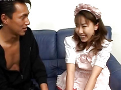 Hirai is horny and eager for cock