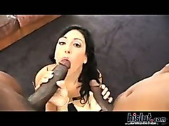 Ricki White loves black cock