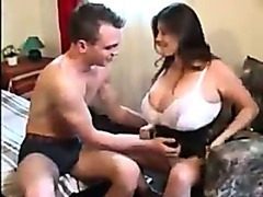 Brunette With Massive Tits