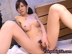 Asian MiLF Rina Tomoa Gets Sprayed