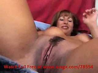 Porn Tube of Italian Milf Covered In Jizz