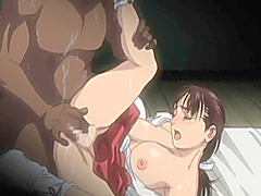 Japanese hentai hot poking by ghetto anime