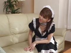 Vibrator pleases nasty Yui