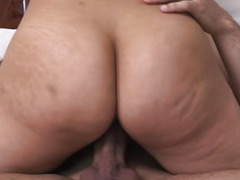 Two latina with fat rump gets banged