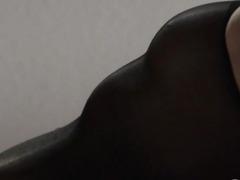 extreme princess in pantyhose masturbating