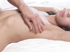 Shaved cheerleader in insane erotic movie