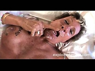 Porn Tube of Granny Banging Big Black Cock