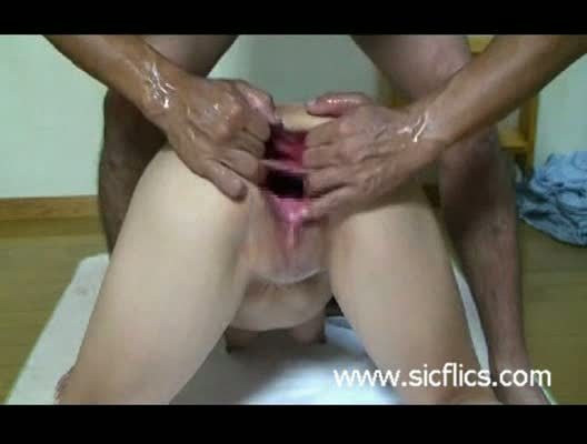 Brutal double anal sex