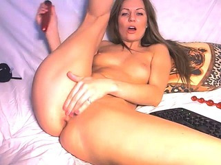 Porno Video of 8 Minute Dildo Play To Squirtgasm Hd