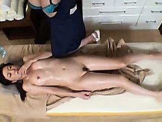 Porn Tube of Lesbian Massage Pts-176 P1