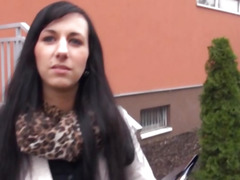 Czech girl Terra Sweet gets her pussy banged for money