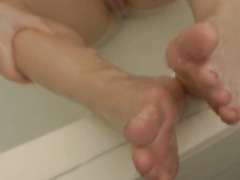 My Blonde Sexy Roommate Caught Naked In the Bathroom