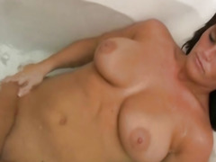 Sexy Naked Neighbor Homemade  Bathroom Spy Sex Tape