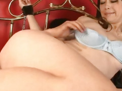 pussy licking, sex toys, vibrator, toy insertion, fingering, squirting, uniform