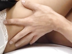 Hiromi pees after is fucked