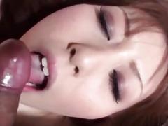 Hot Yuu Sakura gets turned on by tasty cock