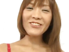 Nagisa Aiba gets horny guy to stimulate her pussy