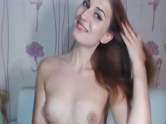 Sexy Hot Teen Striptease and Masturbation