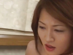 Yuki Touma has crack fucked after licking dicks