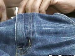Black Gay Playing His Dick Masturbate Hard