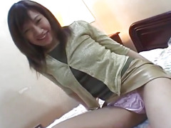 Japanese AV Model is fucked including doggy by sucked shlong