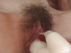 Yume Imano Asian milf shows talents for deep throating cock