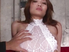 toy insertion, double blowjob