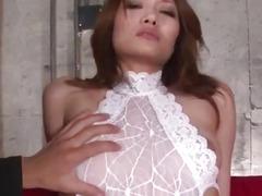 Facial ends Riina Fujimoto┤s filthy porn session