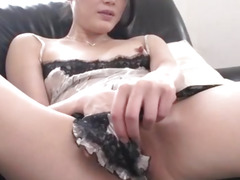 Kyoko Nakajima, perky tits doll, fucked and made to swallow