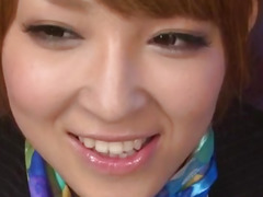 Hikaru Shiina loves to swallow after a good oral