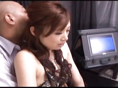 Keito Miyazawa sucks dong and gets cum in sex