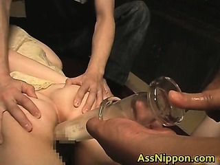 Porno Video of Asami Fujimoto Lovely Asian Doll Enjoys