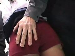Schoolgirl groped on a train