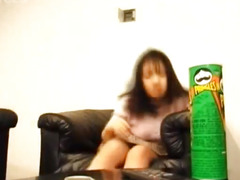 Japanese AV Model with big jugs has snatch licked and frigged