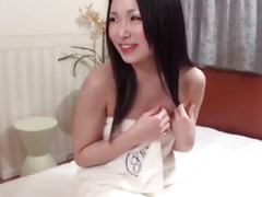 Dashing brunette gets pumped and made to swallow