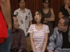 Yuuka Tsubasa gets cum to eat