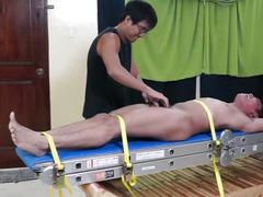 Tickling Asian Boy Lorenzo