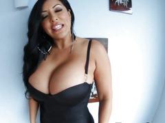 Latinas big tits cumshot