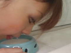 Yume Imano talented Asian milf sucking cock, and dildos before fucking